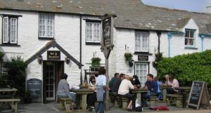 Old inns - Tintagel village centre
