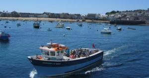 Boat trips from Penzance to the Isles of Scilly