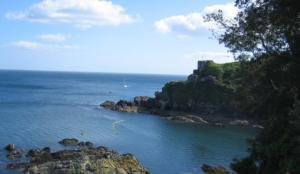 St Catherine's Point & Castle, Fowey