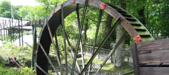 Wheal Martyn in St Austell, the UK's only China Clay Museum & Country Park