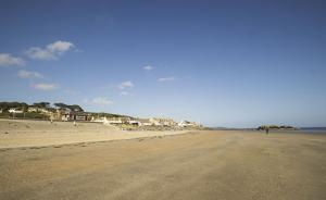 Marazion's beautiful sandy beach