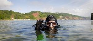Diving is popular in Torquay, especially off Meadfoot Beach