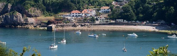 Babbacombe B&Bs are just yards from The Downs and the resort's two award-winning beaches