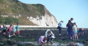Family Seashore Safari on South Landing beach, Flamborough