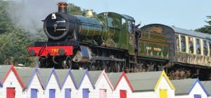 The Dartmouth Steam Railway starts at Paignton Station