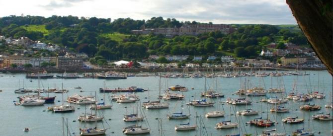 View of the Dartmouth Royal Regatta