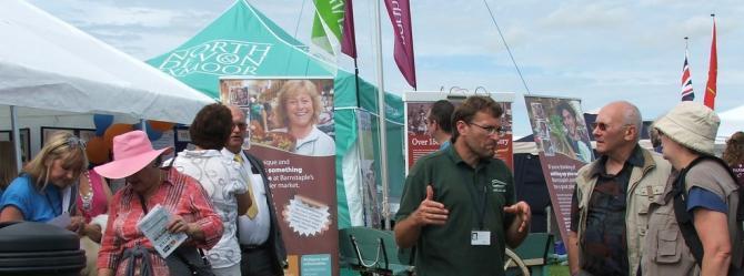 North Devon Show at Barton Farm near Umberleigh