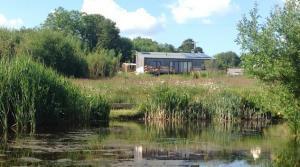 Award-winning luxury ecolodges at Wheatland Farm near Winkleigh village