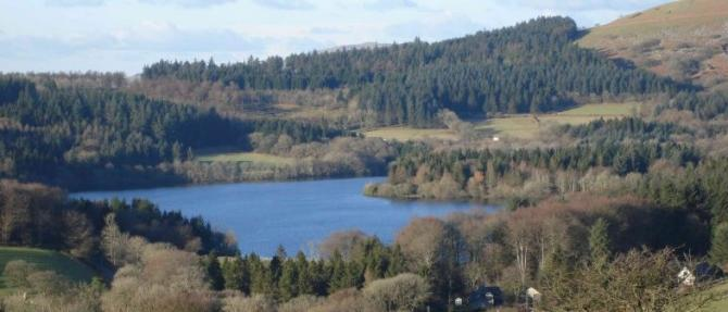 Burrator Reservoir, 'War Horse Country' near Yelverton