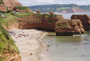 Ladram Bay between Budleigh Salterton & Sidmouth