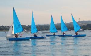 Sailing on the Exe Estuary