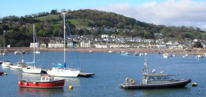 View towards Shaldon from Teignmouth