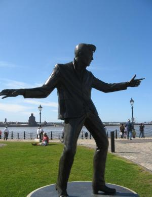See the Billy Fury Statue for free on Albert Dock!