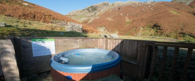 Search for Lake District Cottages with Hot Tubs & Mountain Views - Millrace Cottage in Coniston