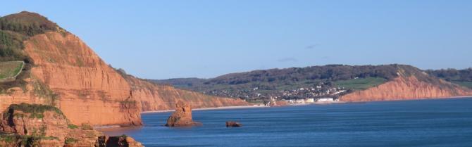 Gold Cap on the Jurassic Coast between Exmouth & Bridport