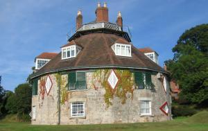 A La Ronde near Exmouth, the National Trust's famous 16 sided house