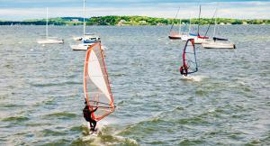 Go windsurfing in Milford Haven