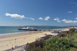 Beautiful beach at Bournemouth