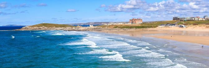 Hit the Surf on Fistral Beach in Newquay