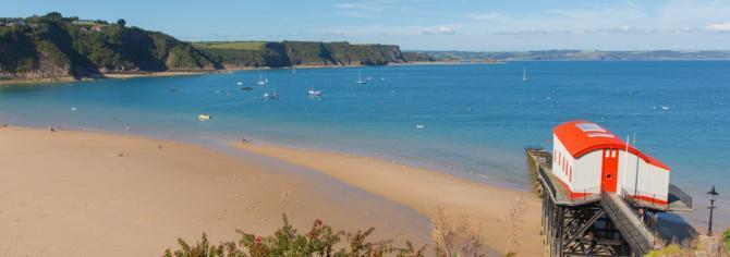 Tenby's award-winning beaches - Pembrokeshire Coast, Wales