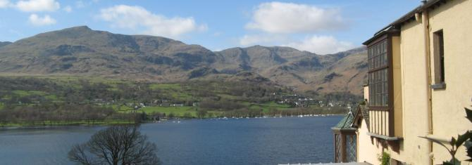 Mountain retreats in the Lake District at Coniston