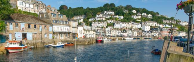 Looe Harbour, South East Cornish Coast