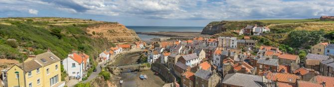 Staithes Fishing Village on the Yorkshire Coast