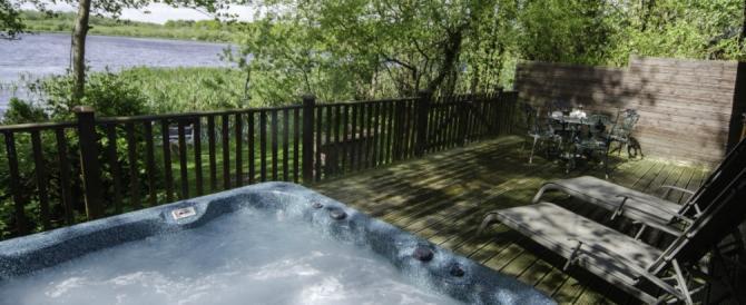 Gadwell Lodge, Tranquil Otter Luxury Lodges near Carlisle