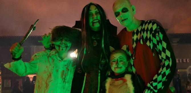 Spooky Ghost Train rides on the East Lancashire Railway