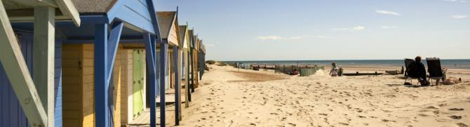 West Wittering Beach near Bay View Apartment