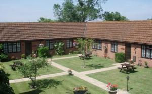 Single storey Hope Farm Cottages near Weston super Mare