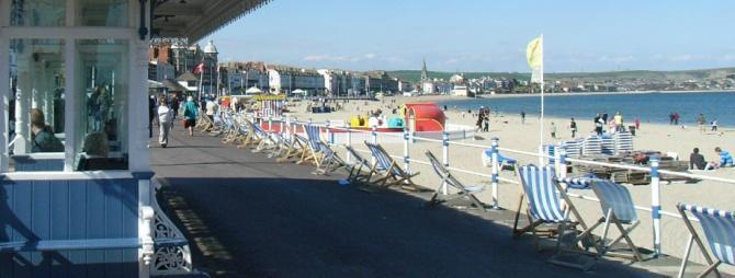 Accessible Weymouth Prom & Beach
