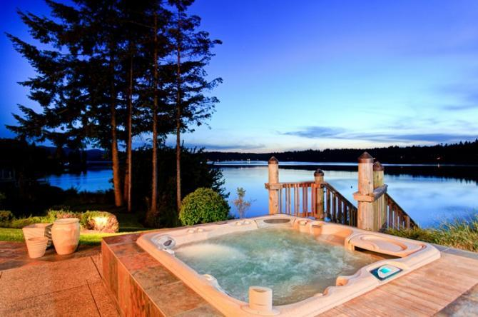 uk hot tub holidays