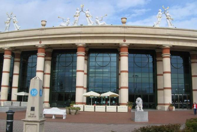 Trafford Centre - one of Britain's top shopping centres