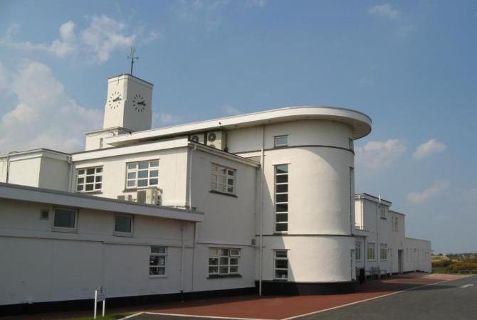 Royal Birkdale's Art Deco Club House