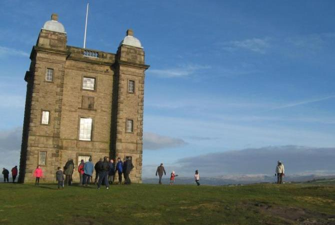Views towards the Peak District from Lyme Park, Cheshire Peaks