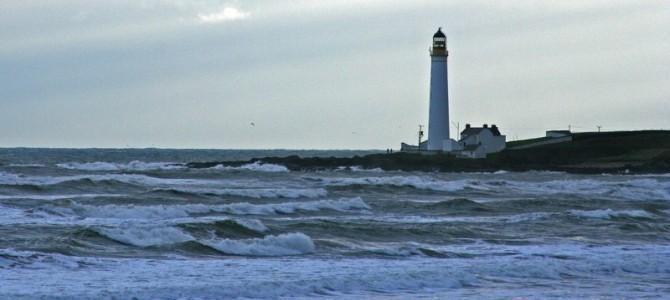 Scurdie Ness Lighthouse, Montrose, Scotland