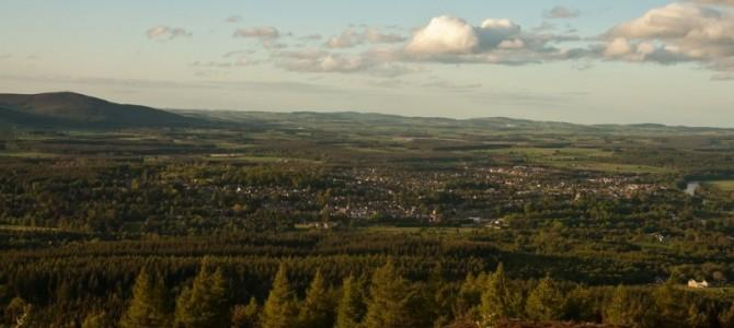 Banchory as seen from Scolty Hill.