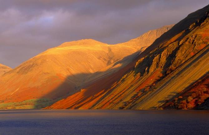 Wastwater Sunset - Britain On View