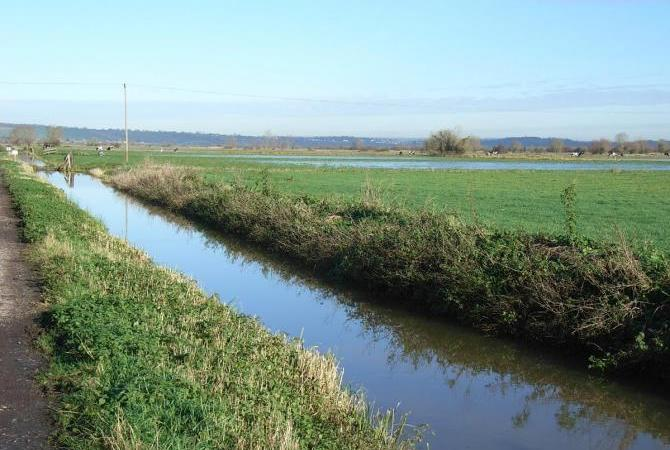 Langport in the heart of the Levels