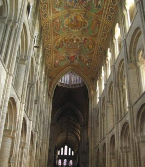 Nave & Painted Ceiling - Ely Cathedral