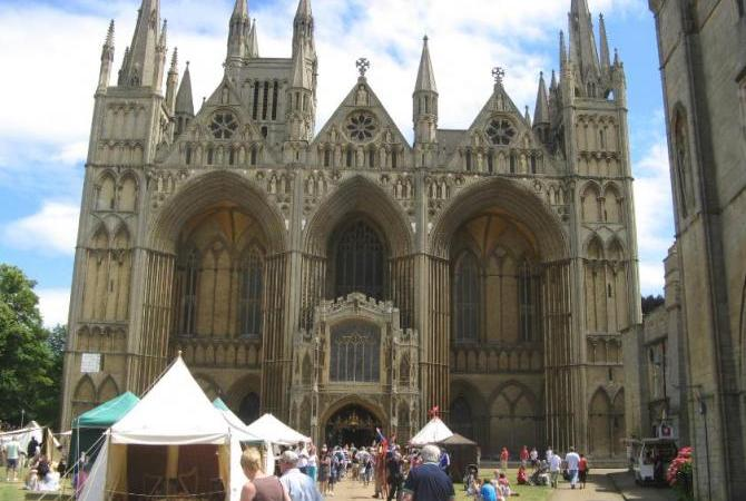 Peterborough Cathedral during the Heritage Festival