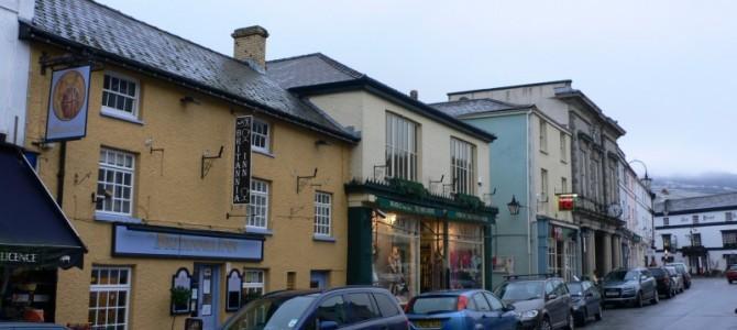 Crickhowell, Brecon Beacons, Wales