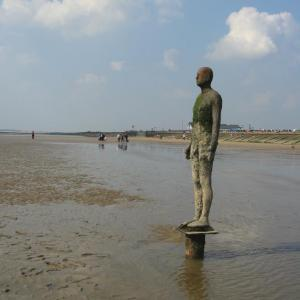 Antony Gormley's 'Another Place', Crosby Beach