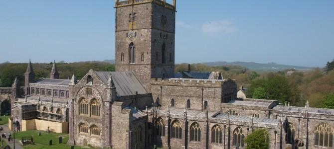 St Davids Cathedral, Pembrokeshire, Wales