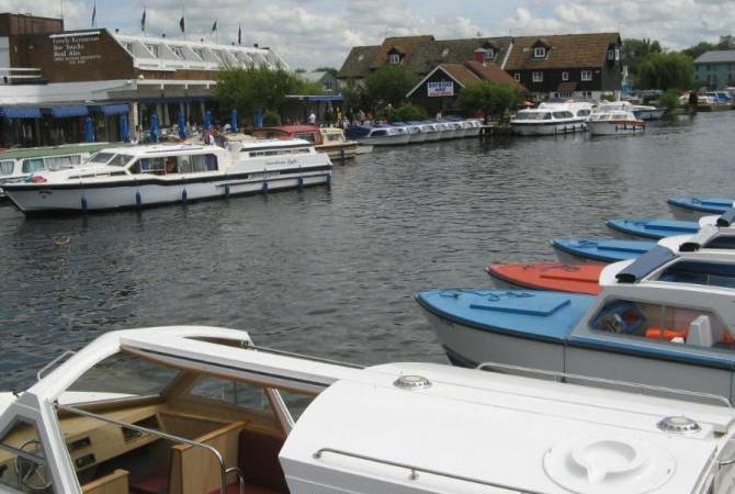 Wroxham, the Capital of the Norfolk Broads