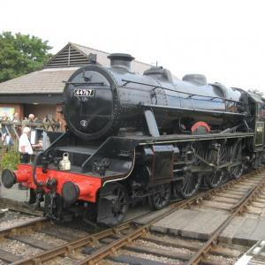 North Norfolk Railway - the Poppy Line between Holt & Sheringham on the coast