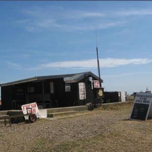 Seafood Shack on Aldeburgh Beach
