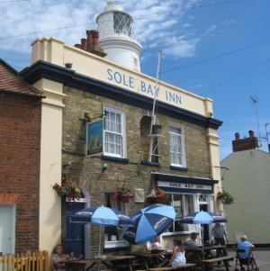 Sole Bay Inn Southwold serving delicious Adnams Ales