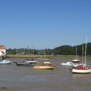 River Deben estuary at Woodbridge